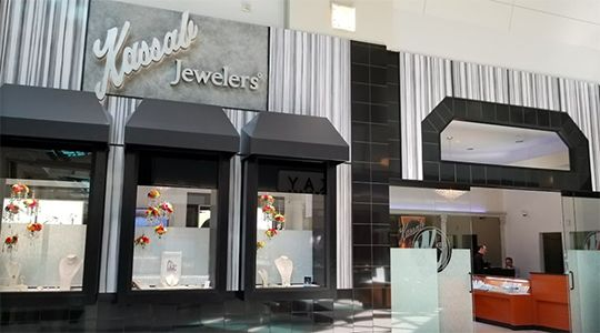 Kassab Jewelers in Washington Square, Portland, Oregon